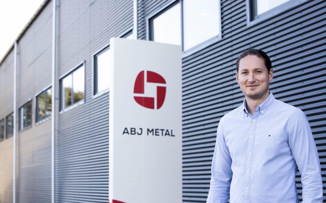 Pressemeddelelse, AB Jensen Maskinfabrik bliver til ABJ Metal